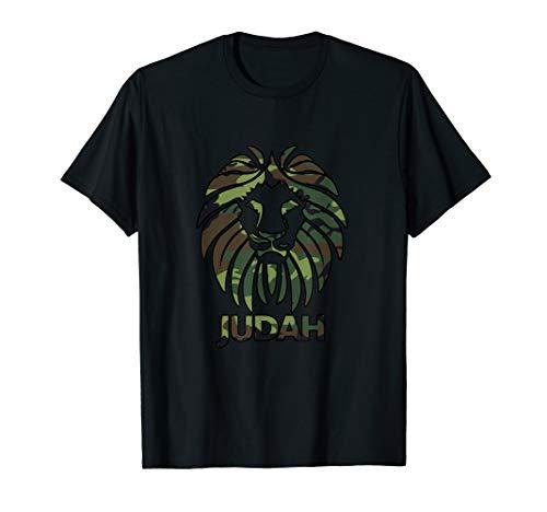 Hebrew Israelite T Shirt CAMO Lion Of Judah Clothing Tee
