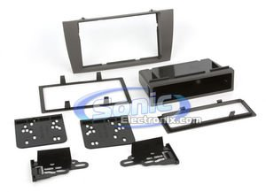 Installation Type - Metra 99-9501G Single or Double DIN Installation Dash Kit for 2002-2007 Jaguar X-Type or 2003-2006 Jaguar S-Type Gray