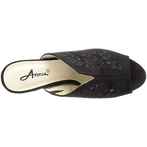 e6e0b58102ce Annie Shoes Women s Lizzie Wide Calf Slide Sandal chic - appleshack ...