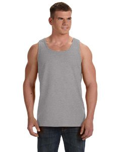Fruit of the Loom Adult 5 oz. HD CottonÖ Tank-Athletic Heather-XL