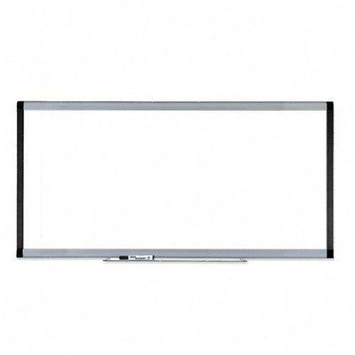 Lorell Magnetic Dry-Erase Board, 8 by 4-Feet, Silver/Ebony by Lorell