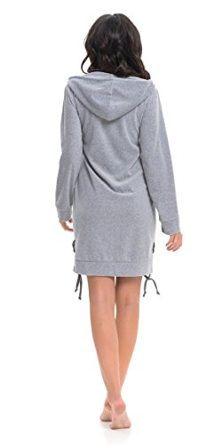 dn-nightwear - Albornoz - para mujer gris