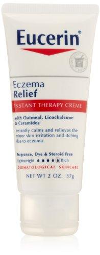 Eucerin eczéma Crème soulagement de thérapie instantanée, deux once