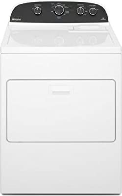 "Whirlpool WGD4850BW 29"" White Front-Load 7.0 cu ft. Gas Dryer NIB"