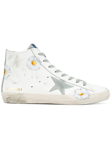 Women's Sneakers Top White G32WS591B19 Golden Leather Hi Goose 5xYAqfw60