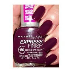 (Maybelline Express Finish Nail Polish Berry Fancy)