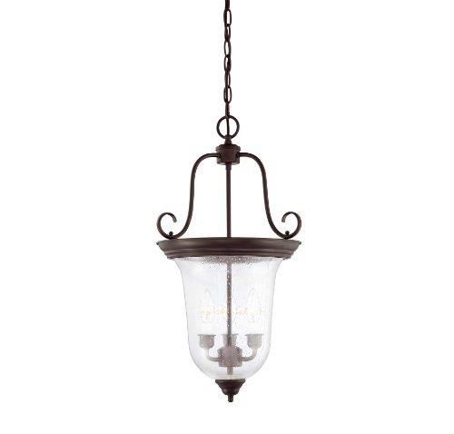 Savoy House 3-8521-3-13, Bell 3-Light Foyer Lantern, English Bronze