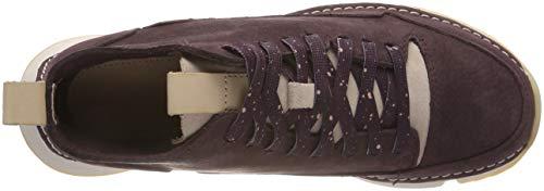 Baskets Aubergine Femme Hautes Free Clarks Tri Violet gwE7x