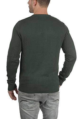 Redondo Cuello Jersey Con Punto 3400 De M Suéter Para solid Terrance Rosin Hombre zZ16qBwBH