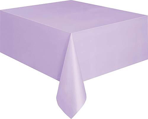 Lavender Plastic Tablecloth, 108