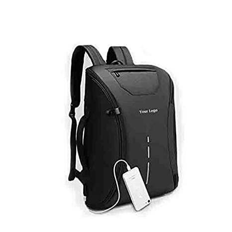 Anti Theft Laptop Bag 14 Inch Water Resistant Office Backpack