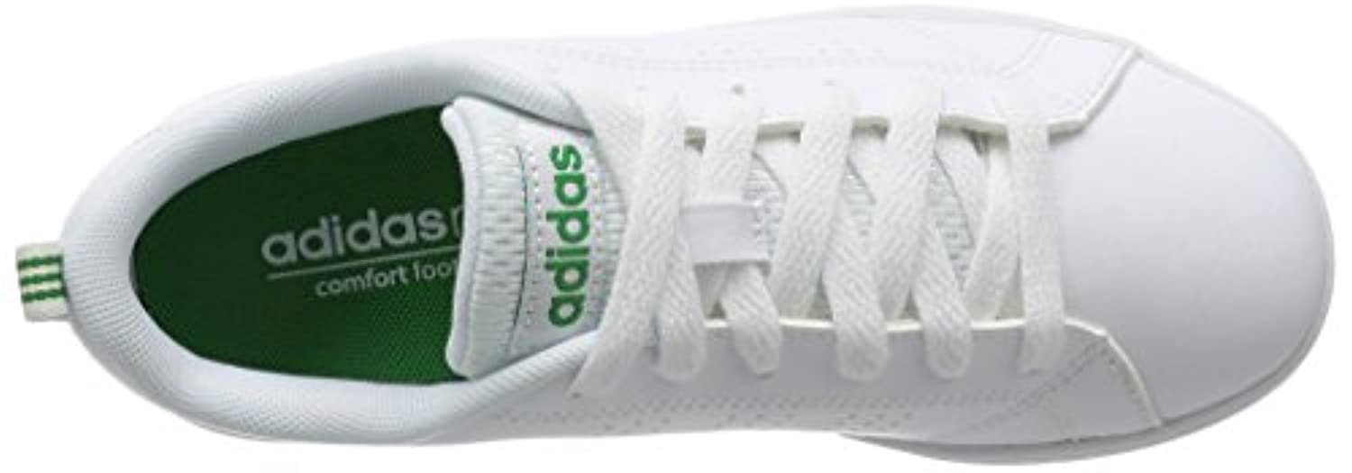 adidas VS ADVANTAGE CLEAN K - Trainers for Boys, 28, White
