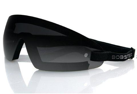 Zan Headgear Bw201 Wrap Around Goggle Black Frame Smoked Lens BW201