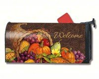 MailWraps Thanksgiving Harvest Mailbox Cover 01022