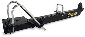 - Competition Engineering C2109 Black Steel Leaf Spring Traction Bar Kit