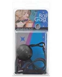 15-Ball-Gag-wBuckle-Black-Bondage-Sensation-Play