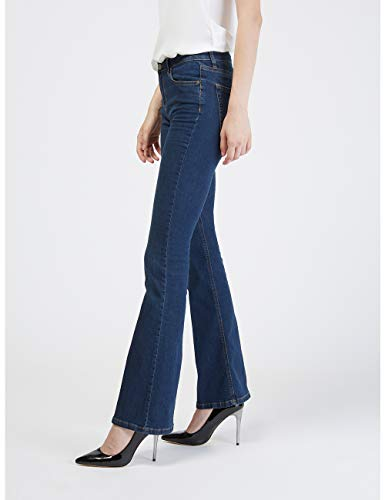 italian Bootcut Motivi Size Jeans Blu W8pUap