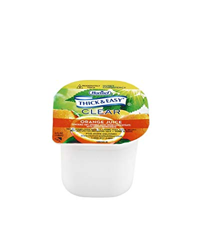 - Hormel Thick & Easy® Orange Juice Honey Consistency or IDDSI Level 3 4 ounce (Pack of 24)