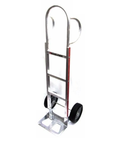 Hand Truck 55'' Tall with Flared Loop Handle, 10'' Solid Tire (300# Cap.) (USA)