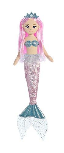 (Aurora World Sea Sparkles Mermaid, Shelly, Blue)