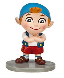 Cubby Jake And The Neverland Pirates (Disney Jr. Jake and the Neverland Pirates 2 inch Cubby Action Figure PVC Figurine)