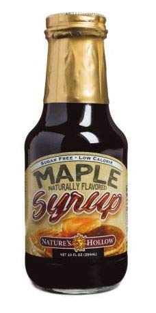 (Nature's Hollow Sugar-Free Maple Flavored Syrup, 10 Ounce)