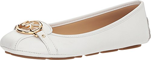 (Michael Michael Kors Women's Fulton Moccasin (7 M US, Optic White) )