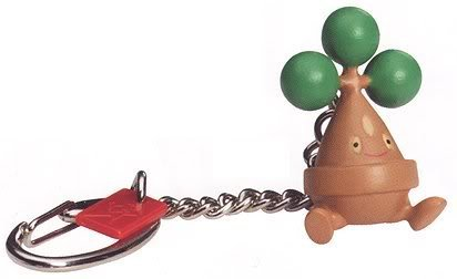 Pokemon Keychain (Series 13): Bonsly.- Gotta Catch ' em all
