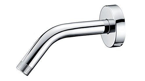 Purelux Universal Shower Arm 6 Inches Made of Stainless Steel in Chrome finish