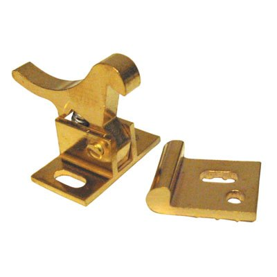 (Extra Heavy Duty Elbow Catch Polished Brass)