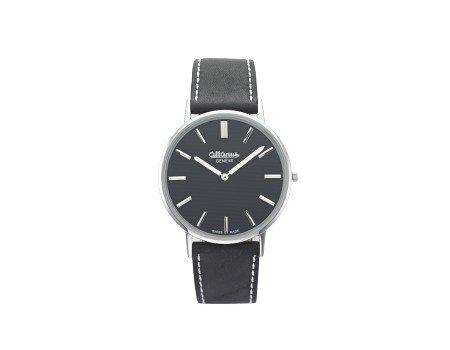 site réputé 87c76 2e15d altanus - Montre bracelet Femme Bracelet noir et cadran noir ...