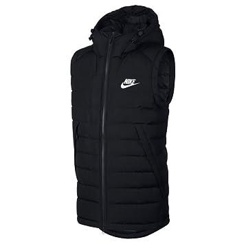 Nike Sportswear FILL VEST - Chaleco - black/white O3WrRf2p