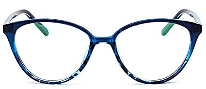 6a8e6dc5877 Image Unavailable. Image not available for. Color  KathShop Spectacle Frame  cat Eye Glasses Frame Clear Lens Women Brand Eyewear Optical Frames Myopia  Nerd
