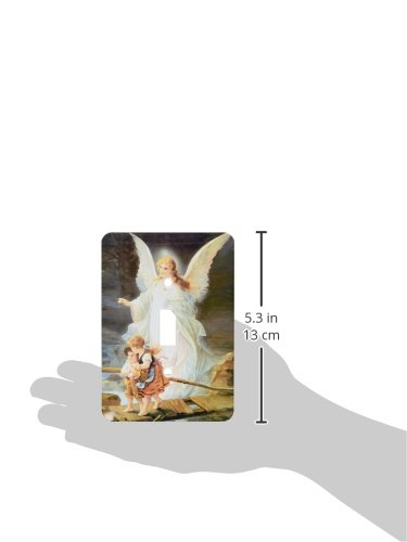 3dRose lsp_4668_1'Guardian Angel' Single Toggle Switch 3D Rose (Home Improvement)