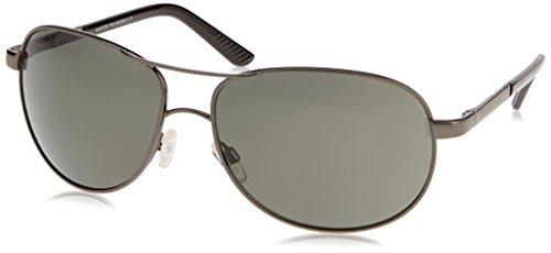 Suncloud Optics Aviator Metal Alloy Frames Polarized Sports Sunglasses/Eyewear - Gunmetal/Gray / One Size Fits All