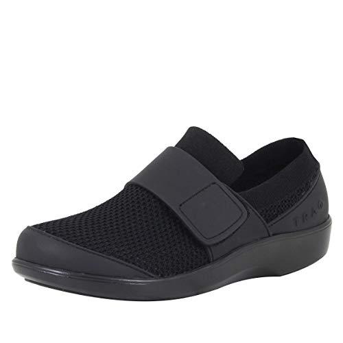 TRAQ BY ALEGRIA Qwik Womens Smart Walking Shoe Black Out 38 EU