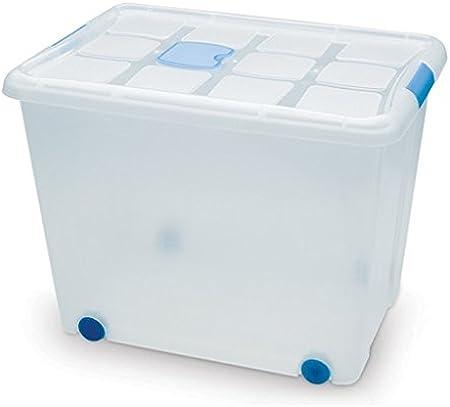 Plastic Forte - Caja de ordenación n 8 86 litros: Amazon.es: Hogar