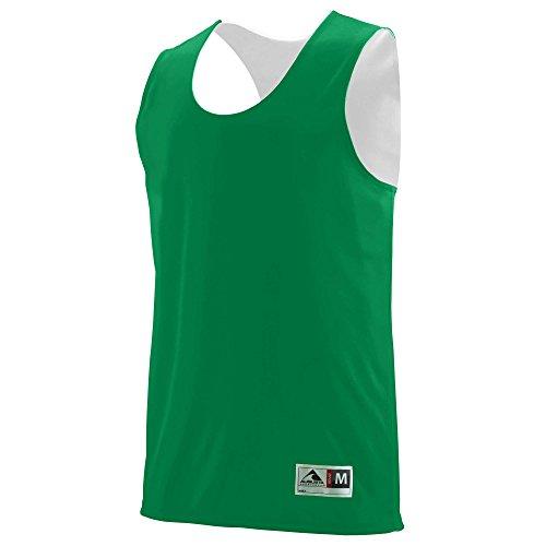 (Augusta Sportswear Boys' Reversible Wicking Tank L)