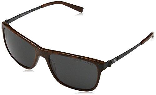 Ralph Lauren Sunglasses Men's Acetate Man Sunglass Square, BRIAR 57 mm ()