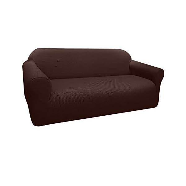 Granbest Housse de canapé épaisse et élégante – Housse de canapé élastique en Jacquard avec accoudoirs pour Le Salon…