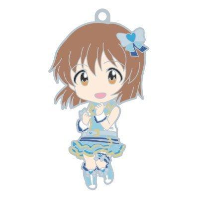 Nendoroid Plus rubber strap The Idolmaster One For All 765PRO ALLSTARS stage B [4. Hagiwara yukiho] (single)
