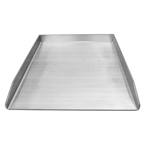 Universal Stainless Steel Griddle Pan for Outdoor Grill Stove Cooking (For Grill Stainless Griddle Steel)