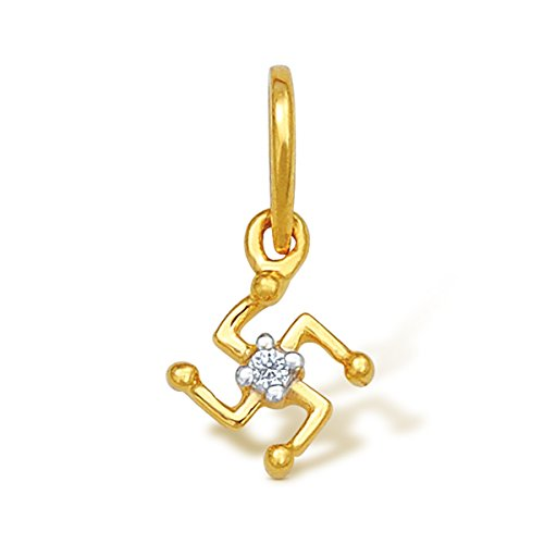 Nishtaa 22K Yellow Gold Pendant Women\'s Pendants
