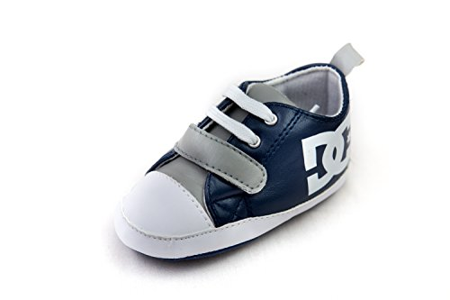 DC Shoe Babies Crib Shoes with Velcro (0-6 months) (Cribs Dc Baby)
