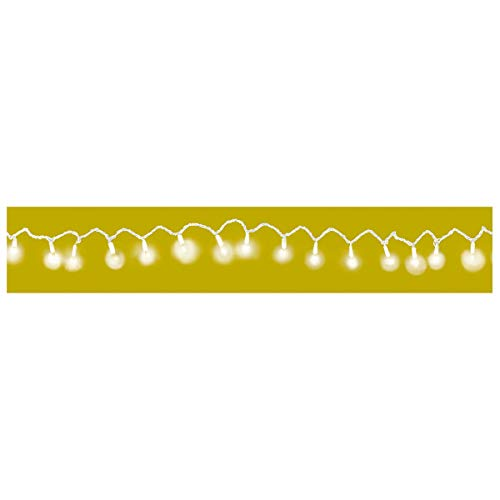 Amscan 100 Count Patio String Lights, 24-Feet, Frosted White by Amscan (Image #4)
