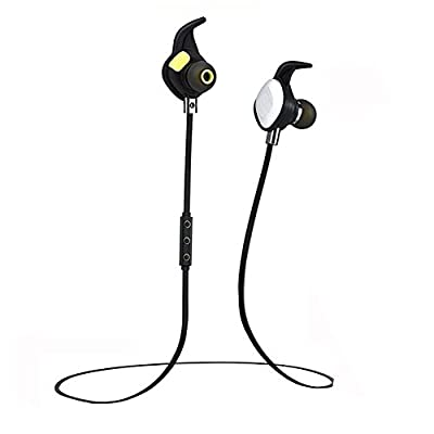 Bluetooth Headphones AELEC BTE268, Magnetic Wireless Earbuds, Waterproof Sweatproof Earphones and In-Ear Sport headsets with Mic,8hrs Playtime,V4.1 for Running,Workout,Gym