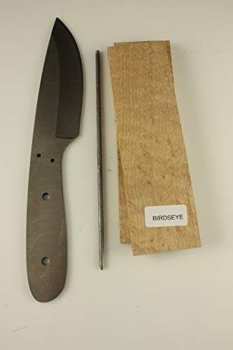 Fury Skinner Knife kit - Payne BROS - Knife Making/Knife Supplies (Birdseye) (Birdseye Maple Blades)