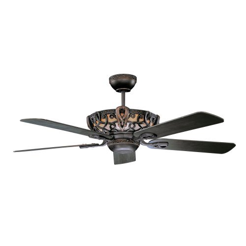 Concord Fans 52AC5ORB 52 Inch Aracruz Ceiling Fan - Oil Rubbed Bronze Bronze Traditional Indoor Fan