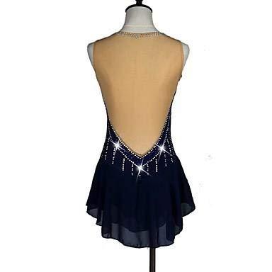 Vestido Sexy Anatómico Hielo Alta Oscuro Tactel Marino Patinaje Mujeres De Rápido Rendimiento Mujer Secado Diseño Clásico Azul Para Elasticidad Sobre wrSw4x6q