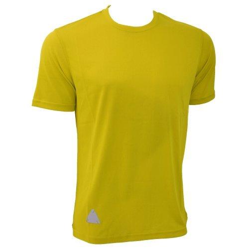 Bright T-shirt Yellow (RTY Mens High Visibility Enhanced Dynamic T-Shirt (XL) (Bright Yellow))